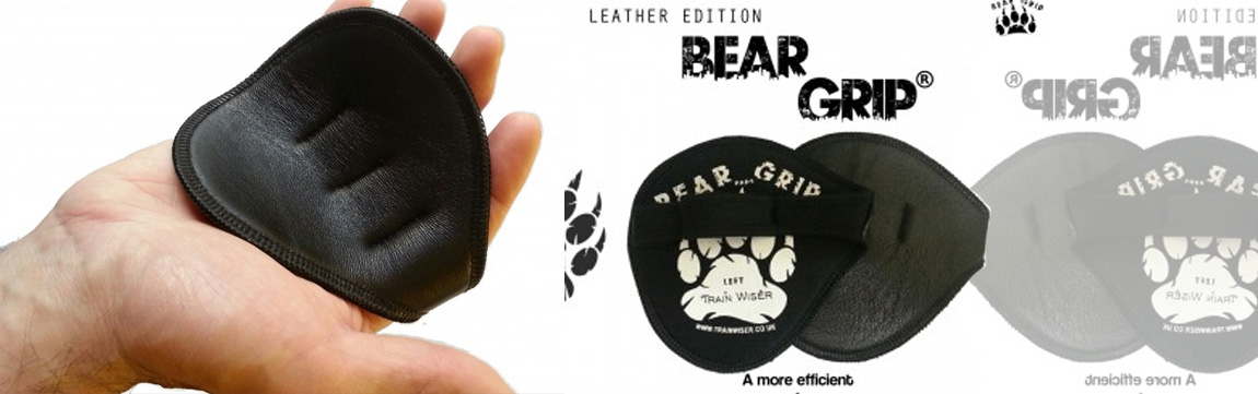 bear grip leather banner